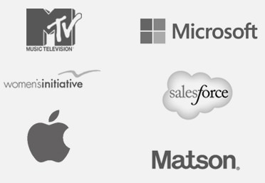group of logos from 6 companies