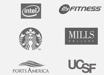 group of logos from six companies