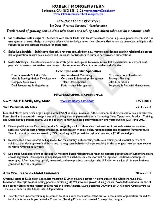 resume samples merideth mehlberg international llc