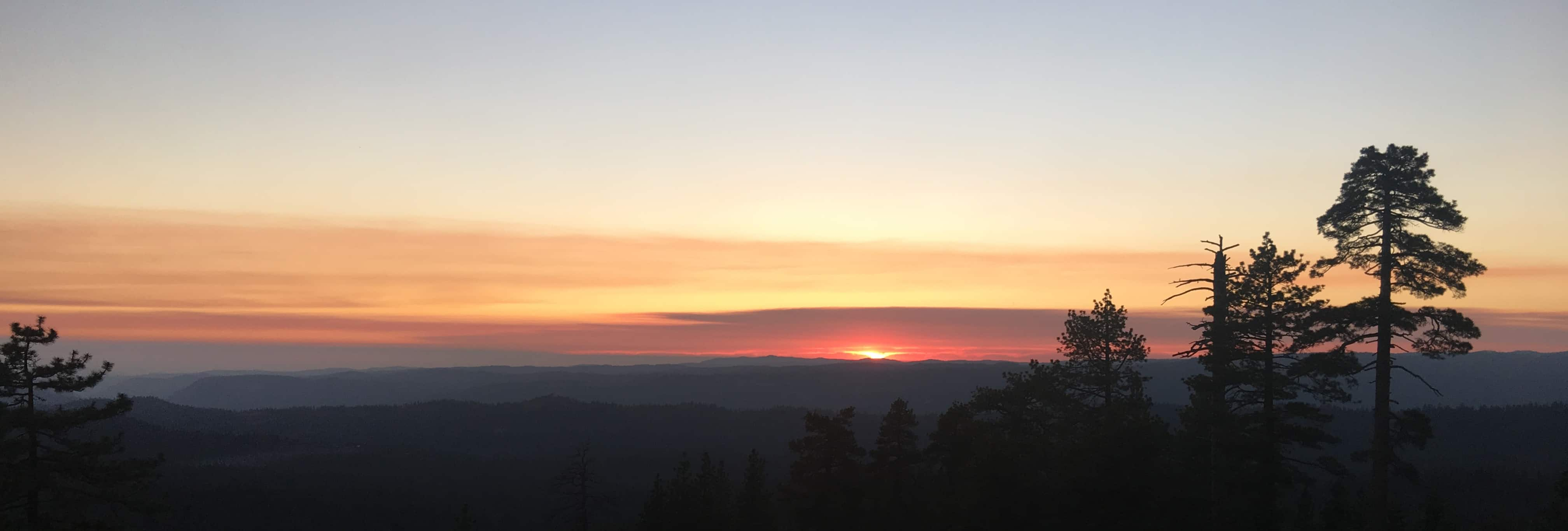lair sunset